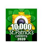 St Patricks 10,000 Credits