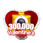 Valentine's 300,000 Credits