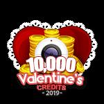 Valentine's 10,000 Credits