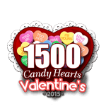 1500 Candy Hearts
