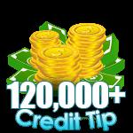120,000 - 129,999 Credit Tip