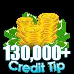 130,000 - 139,999 Credit Tip