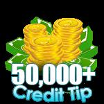 50,000 - 74,999 Credit Tip