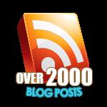 2000 Blog Posts