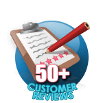 50 Customer Reviews