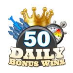 50 Daily Bonus Wins