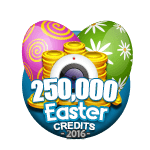 Easter 250,000 Credits