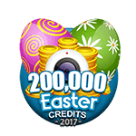Easter 200,000 Credits