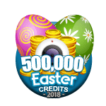 Easter 500,000 Credits
