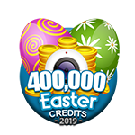 Easter 400,000 Credits