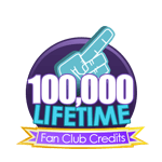 100K Lifetime Fan Club Credits