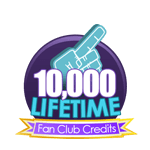 10K Lifetime Fan Club Credits