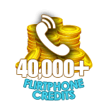 Flirt Phone 40,000 Credits