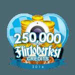 Flirtober's 250,000 Credits