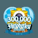 Flirtober's 300,000 Credits