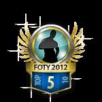 Guys Flirt of the Year 5 Badge