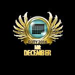 Mister FOTY December 2016
