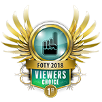 FOTY Viewers Choice 1st 2018
