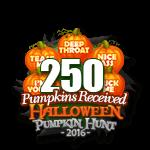 Halloween 2016 Pumpkins 250