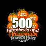 Halloween 2016 Pumpkins 500