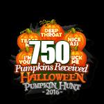 Halloween 2016 Pumpkins 750
