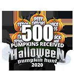 Halloween 2020 Pumpkins 500