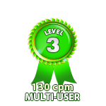 Multi-User 130cpm - Level 3
