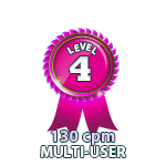 Multi-User 130cpm - Level 4