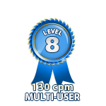 Multi-User 130cpm - Level 8