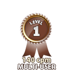 Multi-User 140cpm - Level 1