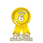 Multi-User 140cpm - Level 6