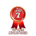 Multi-User 40cpm - Level 7