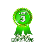 Multi-User 50cpm - Level 3