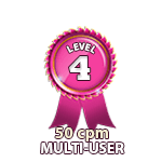 Multi-User 50cpm - Level 4