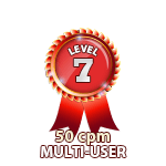 Multi-User 50cpm - Level 7