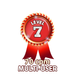 Multi-User 70cpm - Level 7