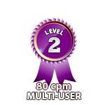 Multi-User 80cpm - Level 2