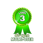 Multi-User 80cpm - Level 3