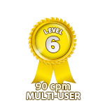 Multi-User 90cpm - Level 6