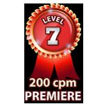 Premiere 200cpm - Level 7