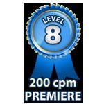 Premiere 200cpm - Level 8