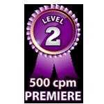 Premiere 500cpm - Level 2