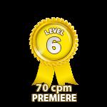 Premiere 70cpm - Level 6