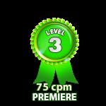 Premiere 75cpm - Level 3
