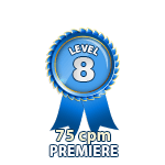 Premiere 75cpm - Level 8