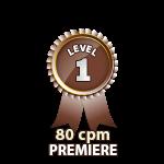 Premiere 80cpm - Level 1