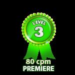 Premiere 80cpm - Level 3