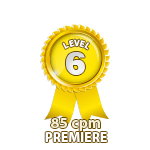 Premiere 85cpm - Level 6