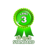 Standard 40cpm - Level 3