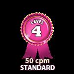Standard 50cpm - Level 4